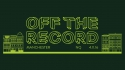 CMU:DIY Presents | Off The Record Manchester